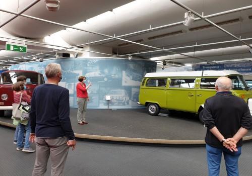 Fit für Wolfsburg im Automuseum