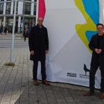 Austausch zwischen WMG-Geschäftsführer Jens Hofschröer und Mitglied des Bundestages Falko Mohrs