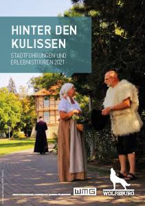 Cover Stadtführung und Erlebnistouren Wolfsburg 2021