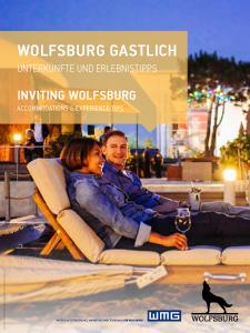 Cover Hotelführer Wolfsburg 2021