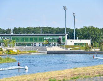 Im Allerpark gibt es viele Möglichkeiten zur Gestaltung der Freizeit: Den Wakepark, das AOK Stadion, die Fußballwelt des Vfl Wolfsburg und mehr.