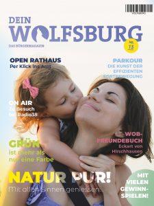 Cover des Magazins Dein Wolfsburg Ausgabe 13