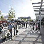 Öffnungsperspektive für Handel, Gastronomie, Tourismus und Kultur. Das Bild zeigt symbolisch ein Bild der Porschestraße in Wolfsburg.