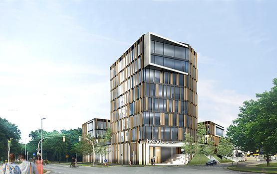 Visualisierung des Headquarters der Hexad GmbH