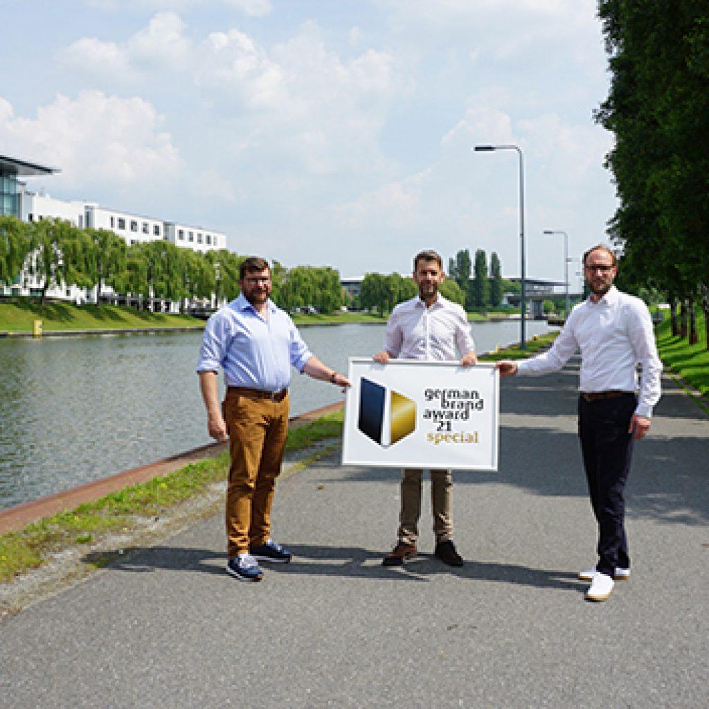 Die WMG wurde mit zwei Projekten für den German Brand Award ausgezeichnet
