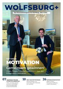 Titelbild der Wolfsburg Plus Ausgabe 34