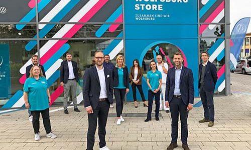 Die WMG feiert gemeinsam mit den Kooperationspartnern die offizielle Eröffnung des Wolfsburg Stores