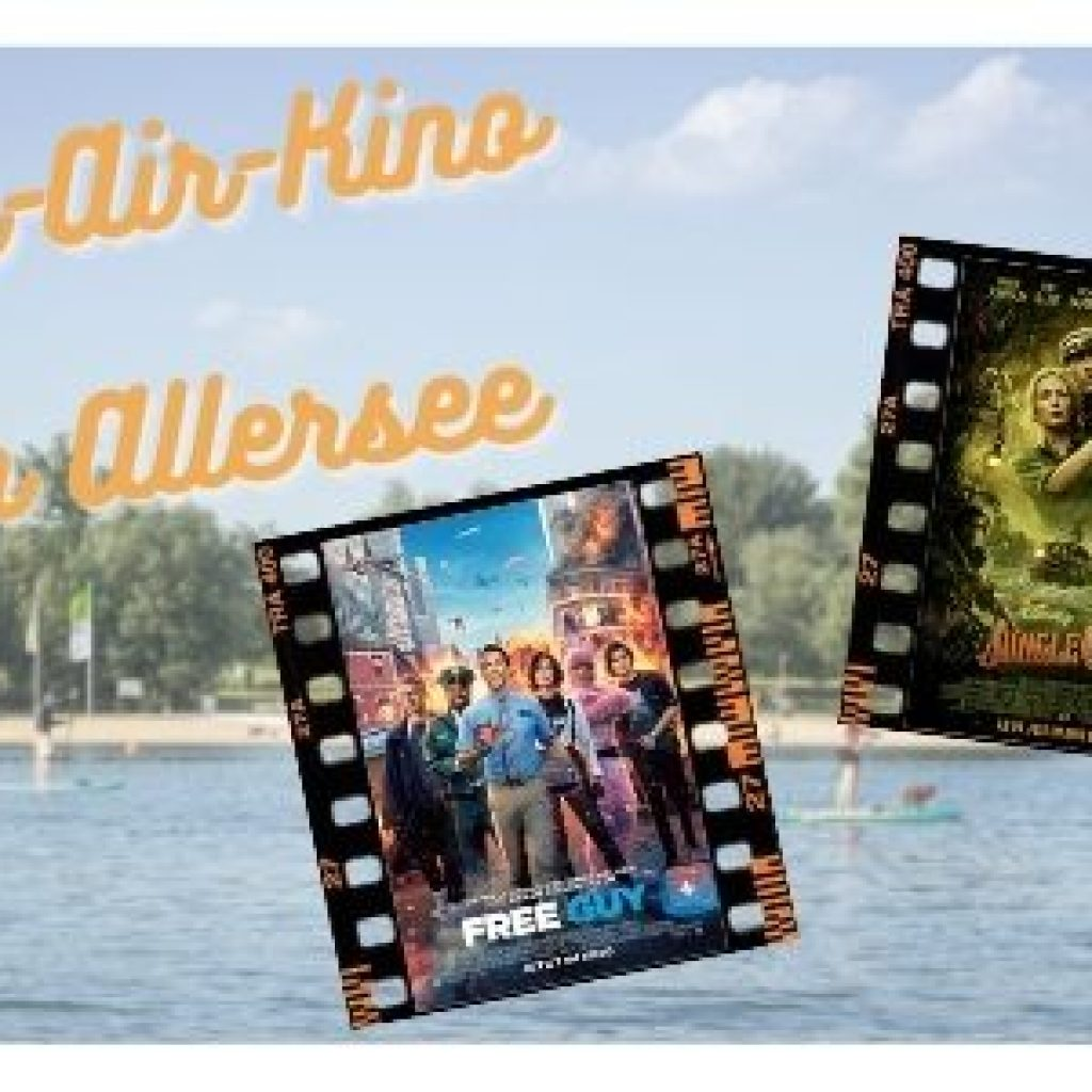 Open-air-Kino am Allersee mit den Filmen Free Guy und Jungle Cruise