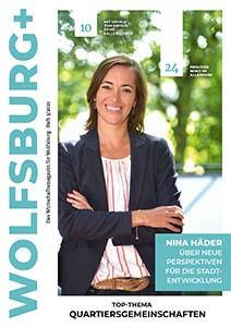 Cover der Wolfsburg Plus Ausgabe 35