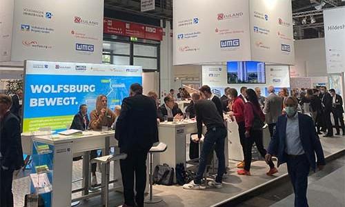Der Standort Wolfsburg präsentierte sich vom 11. bis 13. Oktober 2021 auf der Expo Real in München.