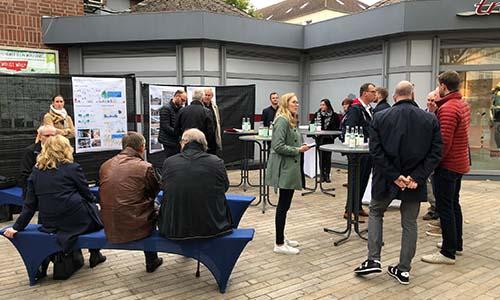 Vertreter*innen des Handels- und Tourismusbeirats in einem Workshop als erstes Teilprojekt für Innenstadtkonzept in Zusammenarbeit mit Büro Gehl