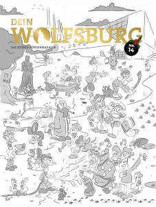 Dein Wolfsburg Cover Ausg. 14